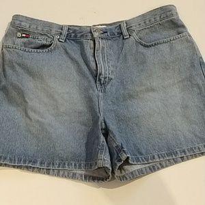 Tommy Hilfiger- Boyfriend shorts Mom jean sz 16